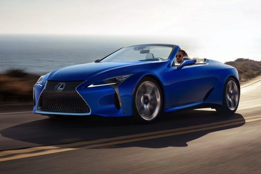 Neuheit Lexus LC 500 Cabriolet apan Marktstart Einführung Design