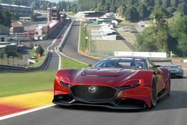 Gran Turismo Sport Videospiel PS4 virtueller Rennwagen Mazda RX-Vision GT3 Concept
