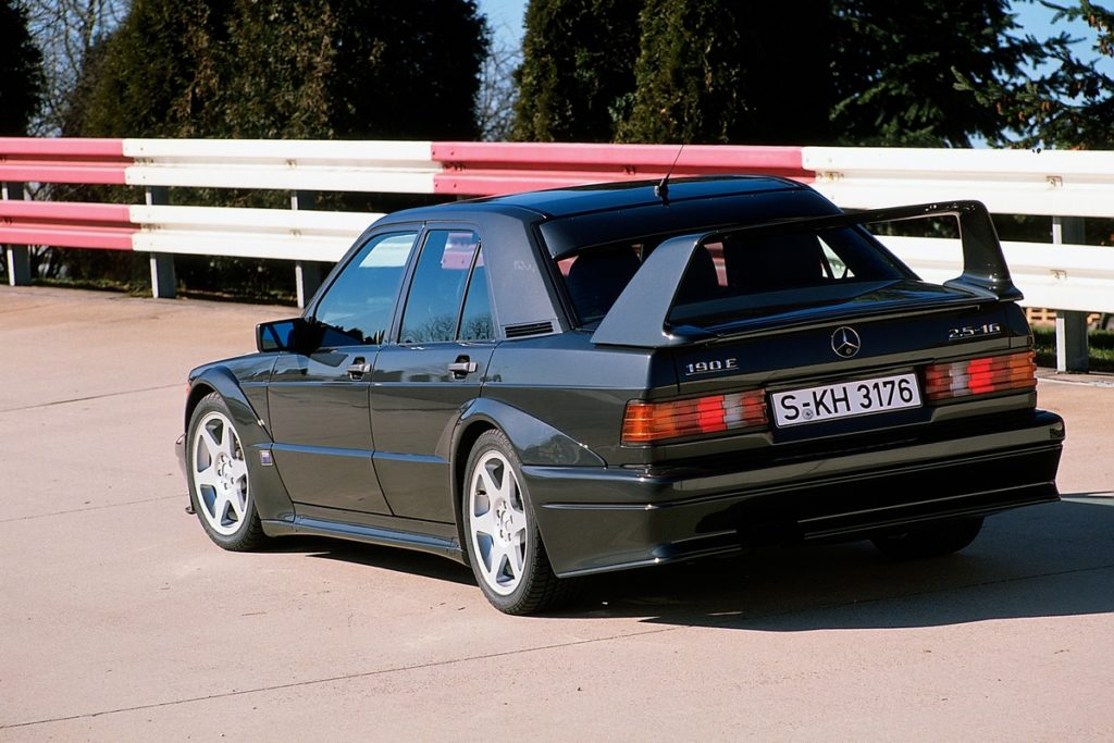 Sportlimousine Topmodell DTM-Homologation Mercedes-Benz 190 E 2.5-16 Evolution II Jubiläum 30 Jahre