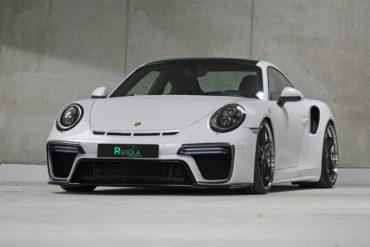 Porsche 911 Turbo S Coupé Regula Exclusive Bodykit Felgen Räder