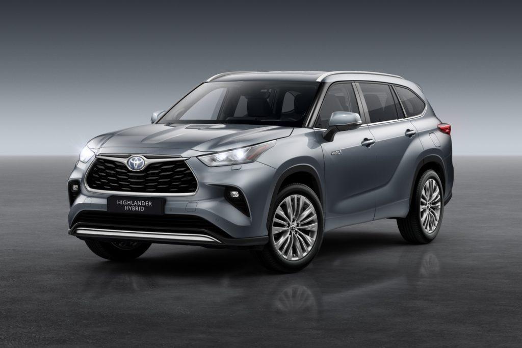 SUV-Neuheit Siebensitzer Hybrid Toyota Highlander Europa Deutschland Marktstart