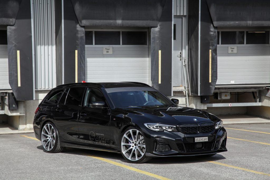 BMW G21 M340i Touring Tuning Leistungssteigerung dÄHLer Compeition Line Fahrwerk Abgasanlage Spoilerlippe Felgen Räder CDC1
