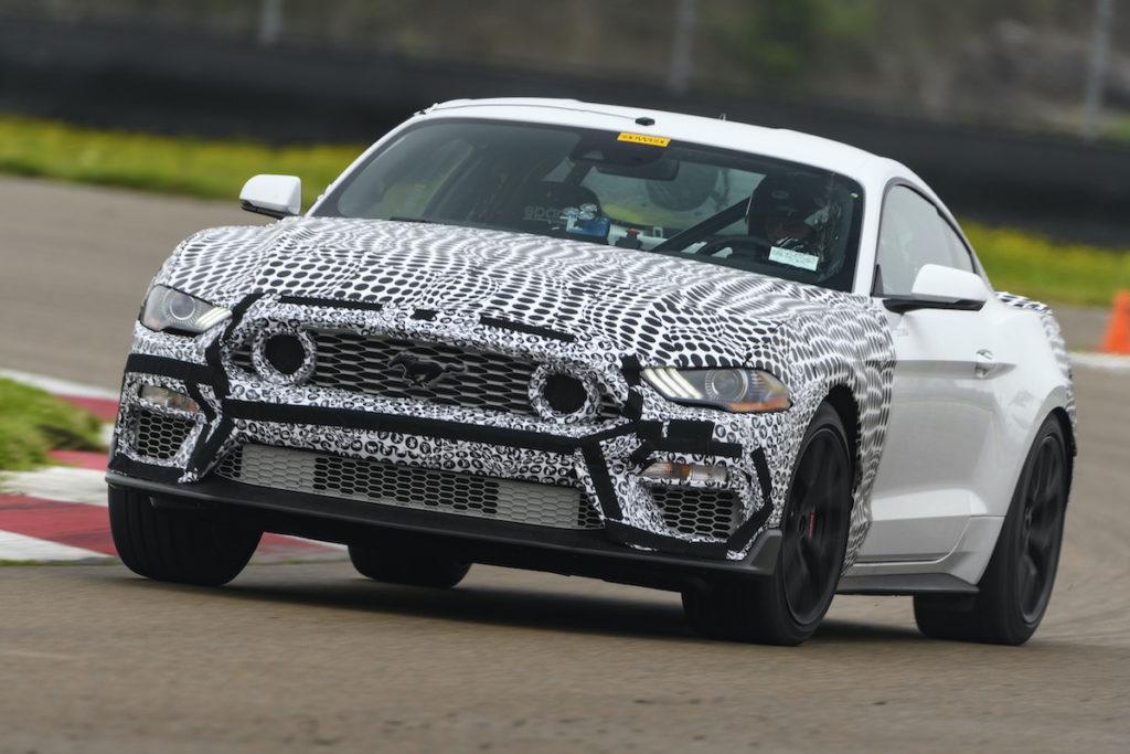 2021 Ford Mustang Mach 1 Coupé Sondermodell Neuheit Teaser Vorschau Prototyp
