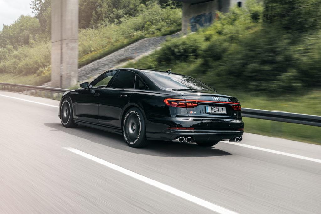 Tuning Audi S8 ABT Sportsline Leistungssteigerung Felgen FR Heckspoiler Spoilerlippe