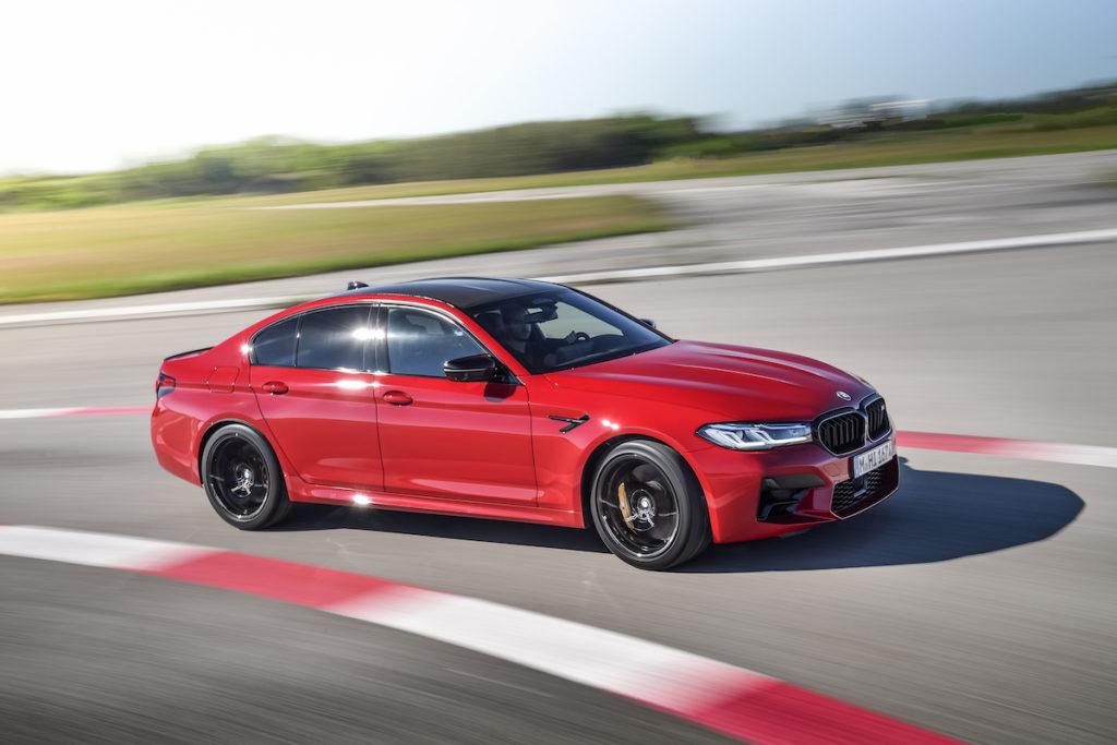 Neuheit Facelift Vorstellung BMW M5 Competition Topmodell Sportler