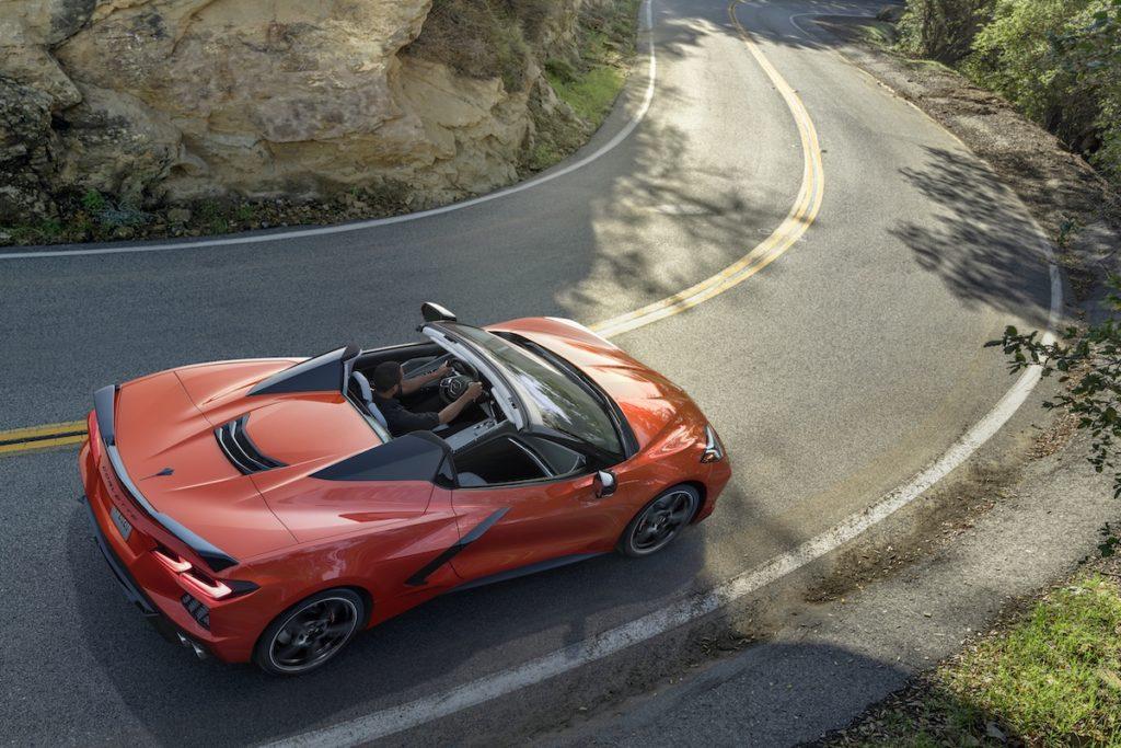 Europastart Preise Markteinführung Corvette C8 Stingray Mittelmotor-Sportwagen Cabriolet