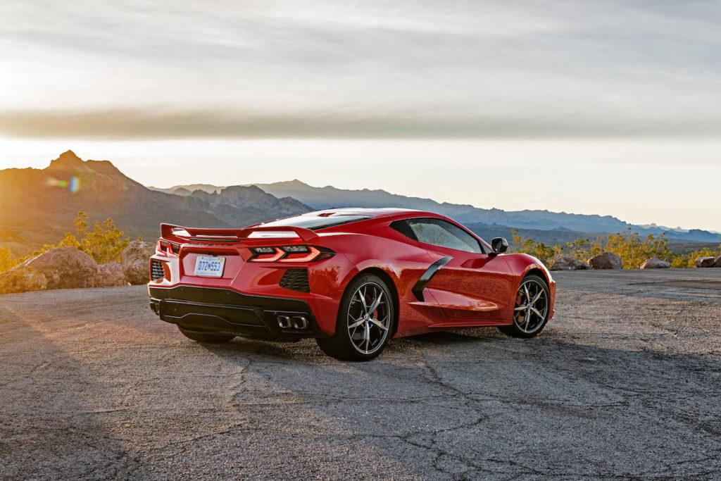 Europastart Preise Markteinführung Corvette C8 Stingray Mittelmotor-Sportwagen Coupé