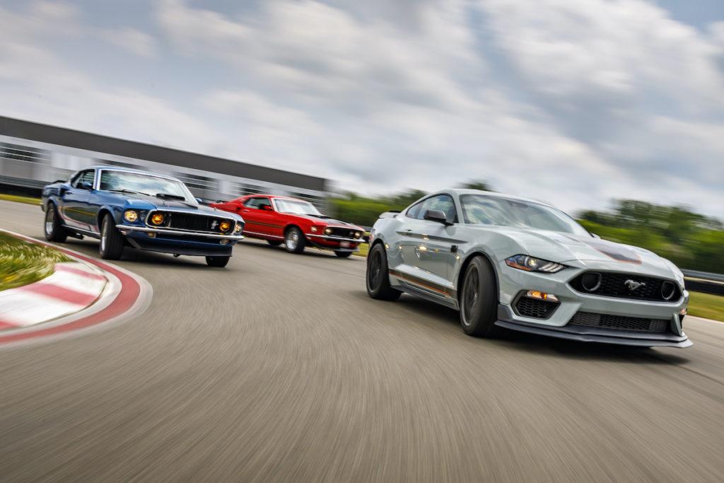 limitiertes Sondermodell Ford Mustang Mach 1 Sportwagen US_Car Coupé Neuheit Vorstellung