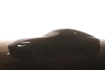 Nissan neuer Z Sportwagen Coupé Neuheit Teaser 2021