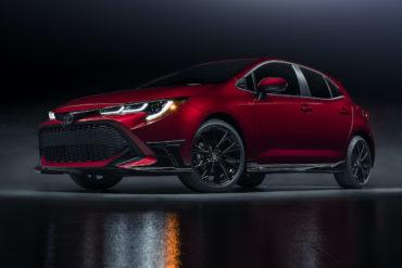 Toyota Corolla Hatchback Special Edition USA limitiertes Sondermodell