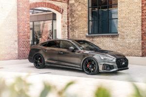 Audi A5 Sportback Facelift Abt Sportsline Carbon-Heckspoilerlippe Felgen Fahrwerk Leistungssteigerung Innenraum-Veredlung