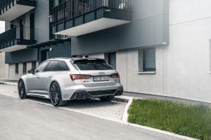 Audi RS 6 Avant Tuning Abt Sportsline Leistungssteigerung Abgasanlage Felgen Fahrwerk Tieferlegung
