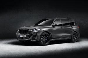 Neuheit Sondermodell BMW X7 Edition Dark Shadow SUV SAV Allradantrieb 4x4 Siebensitzer