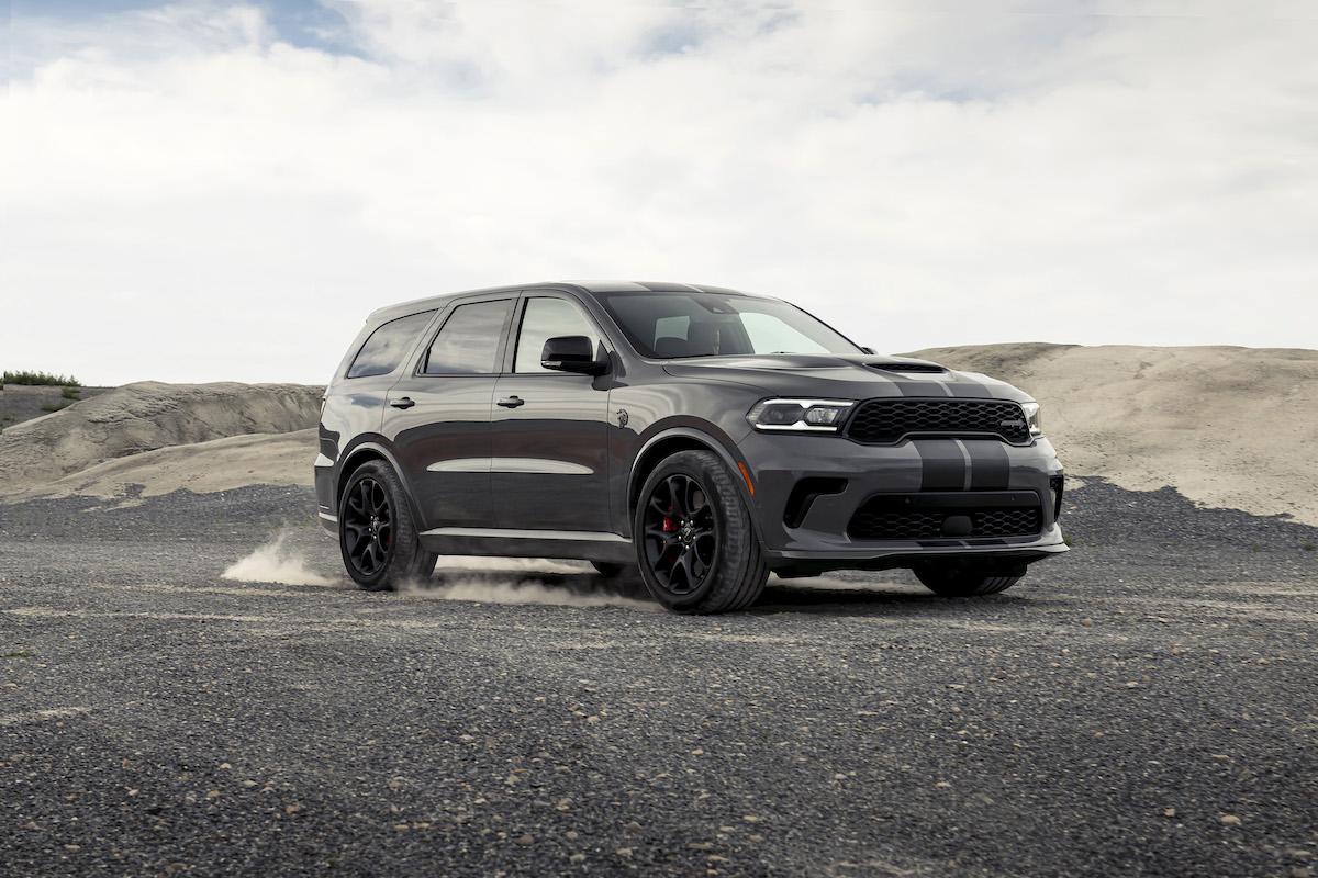 dodge durango srt gray Dodge präsentiert Durango SRT Hellcat & Co.  Eurotuner News