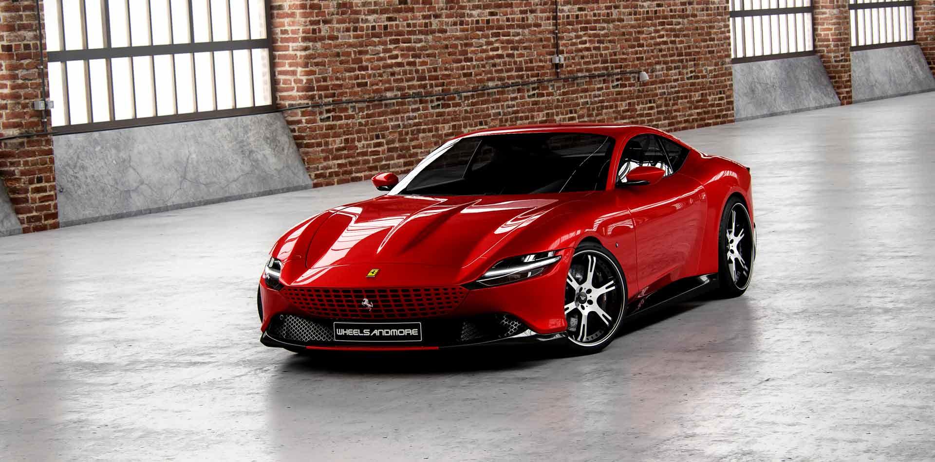 Wheelsandmore Veredelt Neuen Ferrari Roma Eurotuner News