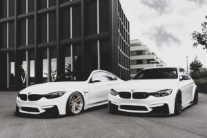 BMW M3 M4 Coupé Tuning Yido Performance Felgen Schmiederäder YP1.2 Forged YP9.2 Forged