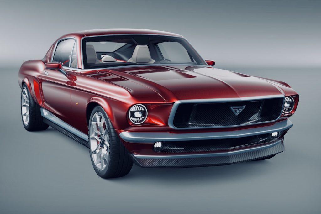Ford Mustang Fastback 1960er Restomod Elektroauto Aviar Motors R67 Carbon