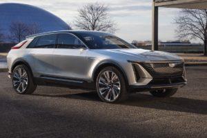Neuheit Concept Car Cadillac Lyriq Elektroauto Crossover-SUV Studie Ausblick