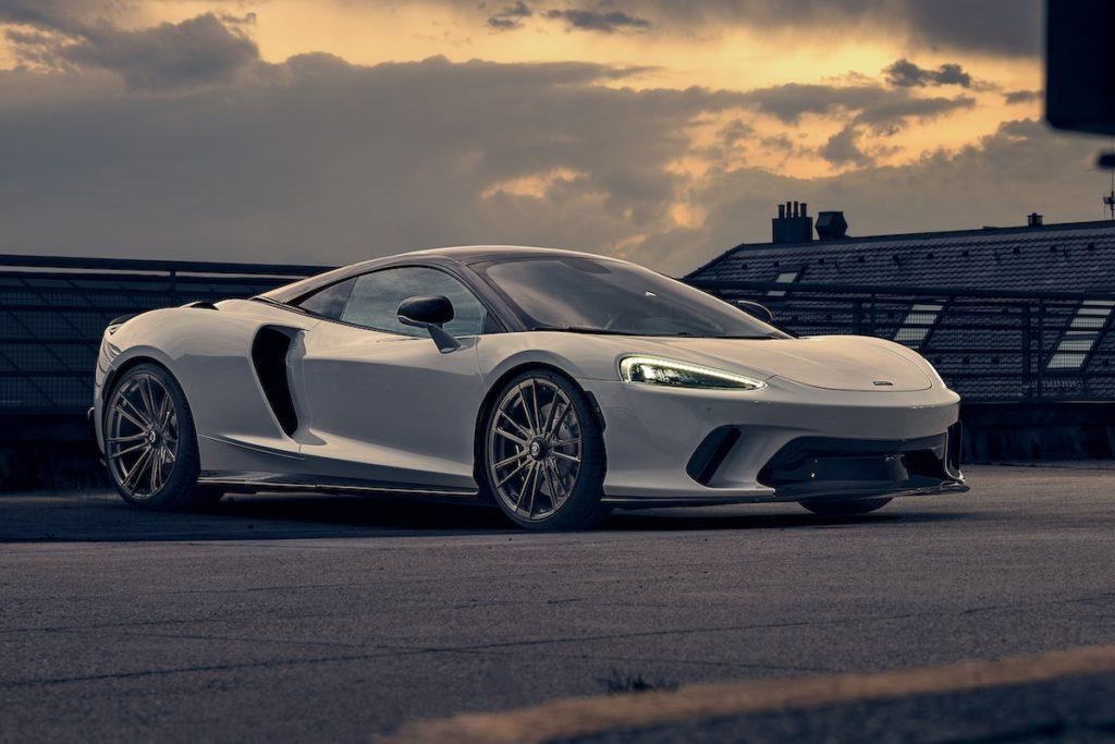 McLAren GT Tuning Novitec Leistungssteigerung Carbon-Bodykit Felgen Tieferlegung
