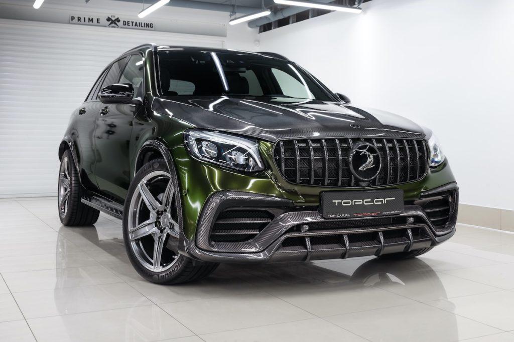 Mercedes-Benz GLC X253 SUV Tuning TopCar Design Inferno-Bodykit Carbon Felgen