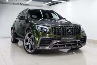 Mercedes-Benz GLC X253 SUV Tuning TopCar Design Inferno-Bodykit Carbon Felgen