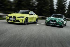 Neuheit Vorstellung Mittelklasse-Topmodelle BMW G80 M3 Limousine G82 M4 Coupé