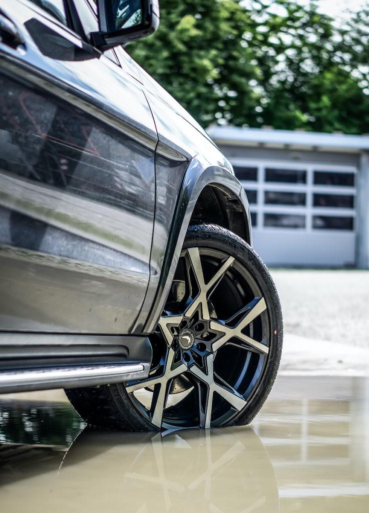 Barracuda Racing Wheels Project X Ultralight Series Tuning Felgen Räder Mercedes GLS X166 HS Motorsport JMS Fahrzeugteile
