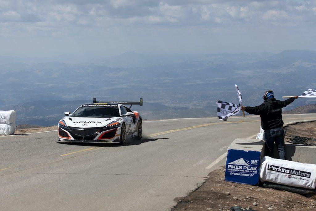 Acura NSX Bestzeit Pikes Peak International Hill Climb 2020