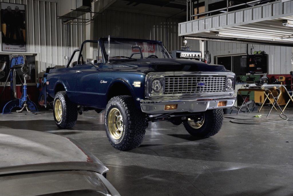 Chevrolet K5 Blazer Offroader Tuning Veredlung Ringbrothers Future Rapper LS3-V8 Felgen Innenausstattung
