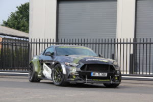 Ford Mustang GT Beauty 5.0 Muscle Car Coupé Tuning RTR Widebody Breitbau WRAPworks Exclusive Wrapping Folierung Felgen Ferrada Leistungssteigerung Fahrwerk Tieferlegung