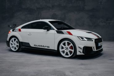 Jubiläum 40 Jahre quattro Audi TT RS limitiertes Sondermodell 4 Exemplare für Deutschland Topmodell Turbo-Fünfzylinder