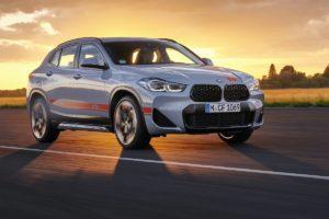 Neuheit Sondermodell BMW X2 M Mesh Edition Crossover City-SUV Sonderlackierung Zierstreifen-Folterung Aerodynamikräder