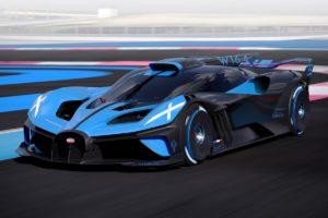 Bugatti Bolide Experimentalfahrzeug Concept Car Studie Rennwagen W16
