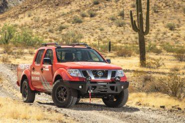 Nissan Navara Pick-up Offroad-Komponenten Fahrwerk Höherlegung Frontstoßstange Felgen Räder Beleuchtung LED Rebelle Rally 2020 Wild Grace Navara