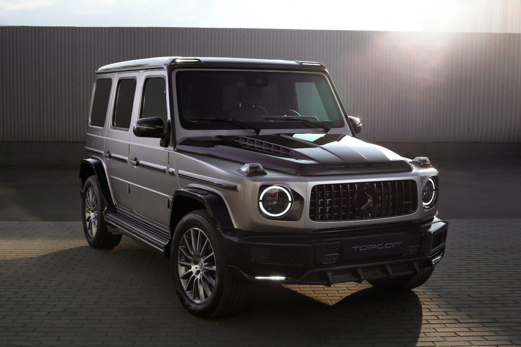 Mercedes-Benz G 500 W463a Tuning Topcar Design Inferno Light Package Bodykit Carbon Geländewagen Allradler Offroader