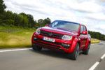 Studie Einzelstück VW Nutzfahrzeuge Red Amarok Pick-up Tuning V6 TDI Diesel Leistungssteigerung Tieferlegung Airride Luftfahrwerk OZ-Felgen Lackierung Innenraum-Veredlung