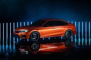 Honda Civic Prototype 2022 Limousine Sedan Saloon Neuheit Ausblick Teaser Vorstellung