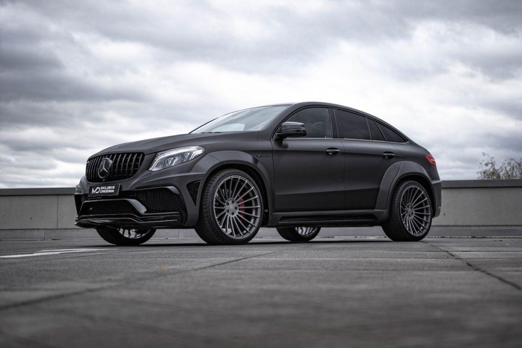 Mercedes-AMG GLE 63 S Coupé M&D exclusive cardesign Tuning Widebody Breitbau Bodykit Felgen Tieferlegung Abgasanlage