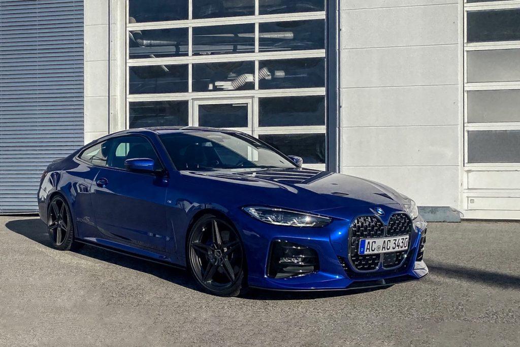 Veredlung Tuning BMW 4er Coupé G22 AC Schnitzer Neuheit Felgen Bodykit Fahrwerk Leistungssteigerung Innenraum