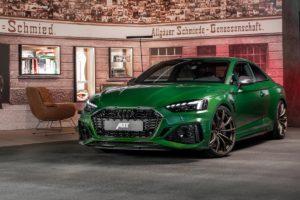 Audi RS 5 Coupé Tuning Veredlung Abt RS5 Karosserieteile Leistungssteigerung Felgen Tieferlegung Innenraum-Veredlung