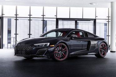 Mittelmotor-Sportwagen V10 freisaugend Neuheit USA Sondermodell Audi R8 RWD Panther Edition Coupé