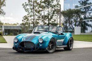 Shelby Cobra Nachbau Replika lizensiert Superformance MKIII-R Cobra Roadster Cabrio Zweisitzer Achtzylinder V8