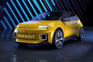 Elektroauto Studie Neuheit Ausblick Retro Concept Car Renault 5 Prototype 2021