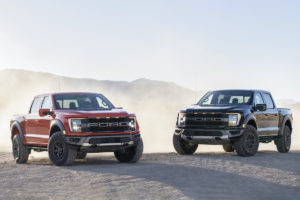 US-Car Highspeed-Pick-up Neiheut Topmodell Ford F-150 Raptor Vorstellung dritte Generation
