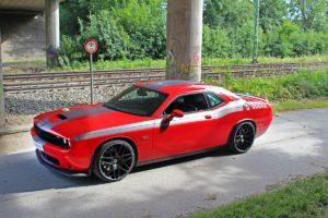 US-Car Dodge Challenger SRT 392 Tuning HS Motorsport Felgen Tieferlegung