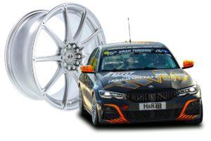 Mainhattan Wheels Monte Carlo F Forged Schmiedefelge Leichtmetallrad Neuheit Motorsport BMW G20 330i Rennwagen