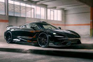 Tuning McLaren 765LT Novitec Carbon Bodykit Schmiedefelgen MC3 Vossenleistungssteigerung N-TRONIC Abgasanlage Tieferlegung Sportfedern