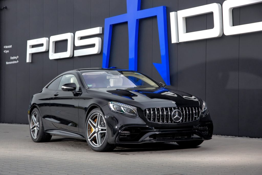Mercedes-AMG S 63 4MATIC+ Tuning Leicstungssteigerung POSAIDON S 63 RS 830+ Luxusklasse Coupé C217 S-Klasse