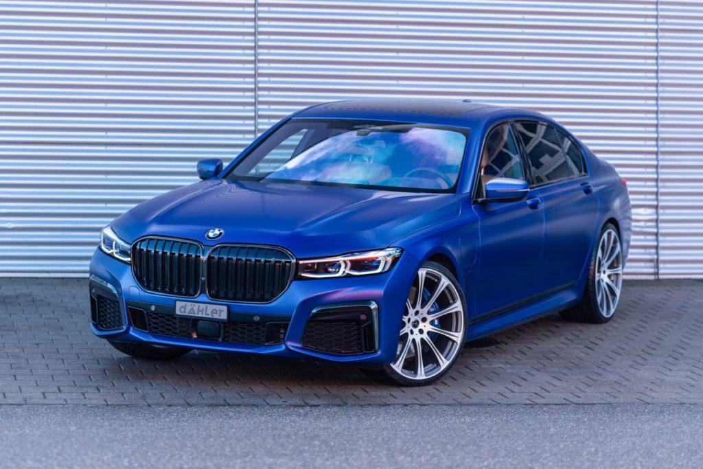 BMW 745Le xDrive G12 dÄHLer Competition Line DCL Tuning Leistungssteigerung Fahrwerk Felgen Tieferlehgung Abgasanlage Oberklasse Luxus G11
