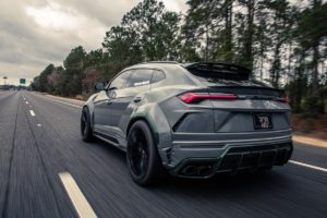 Tuning Lamborghini Urus Harrison Woodruff 1016 Industries Jade-Carbon Widebody Karosseriekit Leistungssteigerung